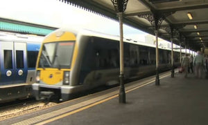 Still taken from Belfast to Londonderry train video.