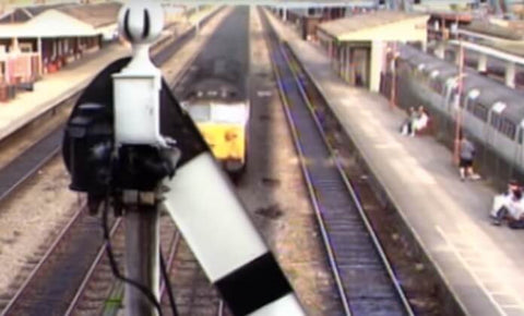 Still taken from Chiltern Take Two train video.