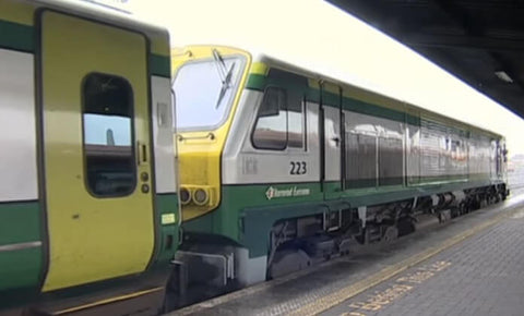 Still taken from Dublin to Cork train video.