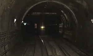 Still taken from East London and District train video.