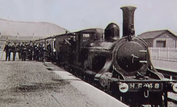 Still taken from Invergarry & Fort Augustus Railway train video.
