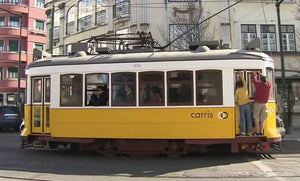 Still taken from Lisbon Trams train video.