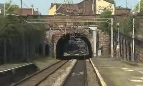 Still taken from Liverpool & Manchester train video.