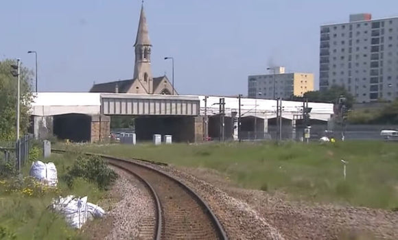 Still taken from Manchester to Cleethorpes train video.