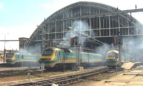 Still taken from Midland Mainline train video.