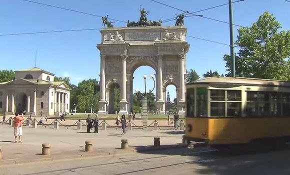 Still taken from Milan Trams train video.