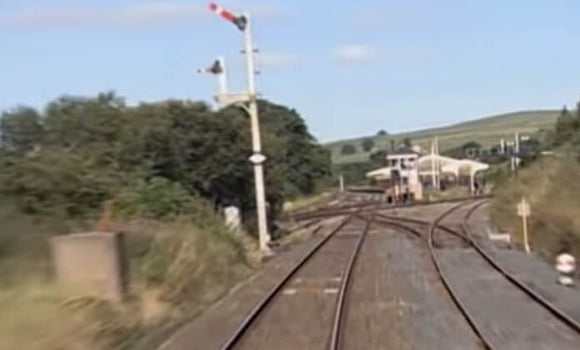 Still taken from Settle and Carlisle train video.