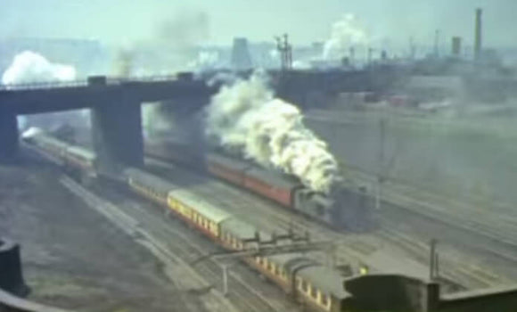 Still taken from Steam on 35mm, the 30s 40s 50s 60s train video.