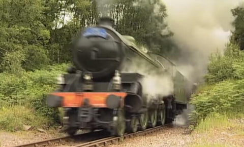 Still taken from Steam through the Scottish Highlands train video.