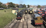 Still taken from Swanage Railway Experience train video.