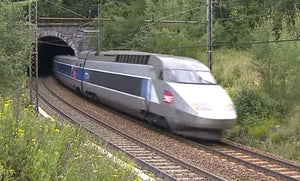 Still taken from TGV Italy France train video.