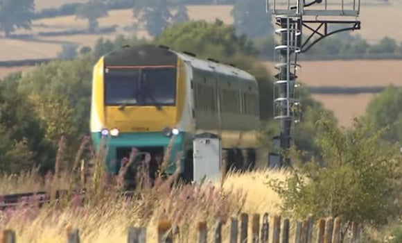 Still taken from Welsh Marches train video.