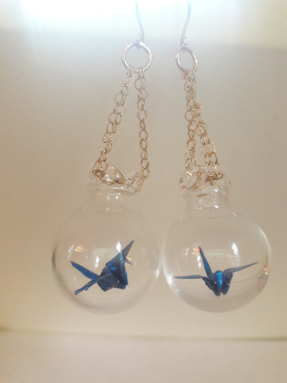 Crane Earrings