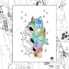 Load image into Gallery viewer, Self-Care Coloring Digital eBook