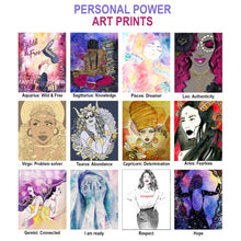 Load image into Gallery viewer, Personal Power Art Prints 8x10""