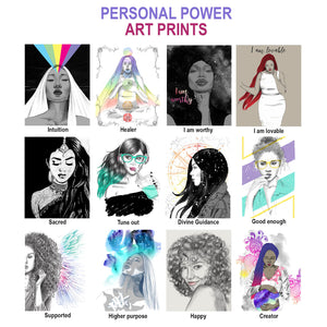 Personal Power Art Prints 8x10""