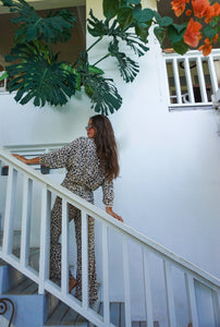 The Skye Pants - Leopard