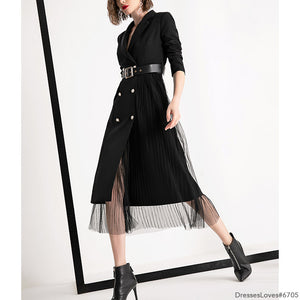 #6705 ISABEL JACKET DRESS