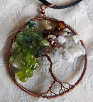 Tree of Life Seasons Pendant
