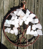 Quartz Tree of Life Pendant