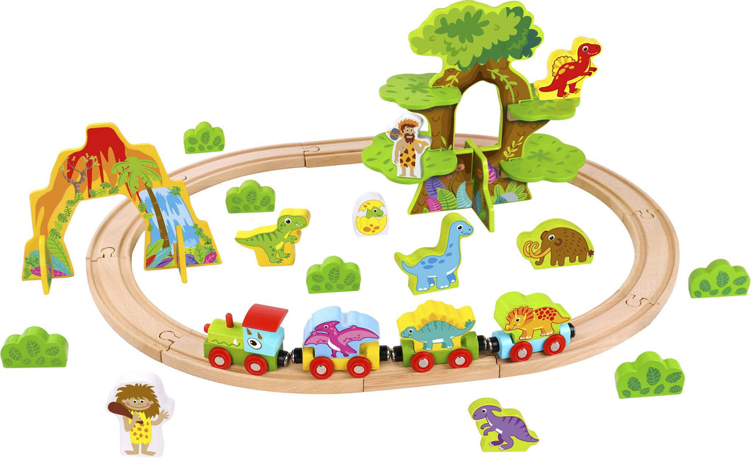 Dinosaur small train set