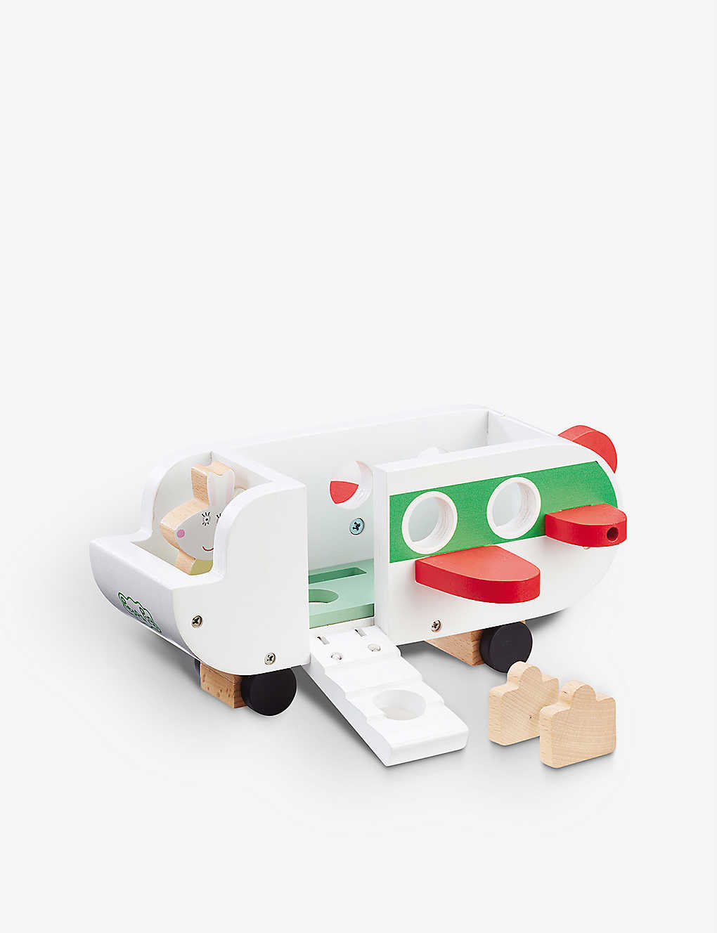 Peppa pig wooden plane