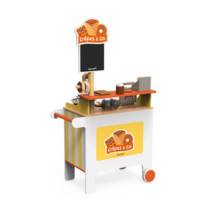Crepes and waffle cart