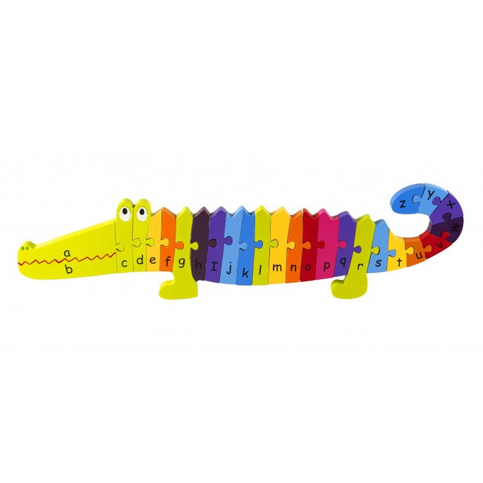 Alphabet Crocodile Puzzle