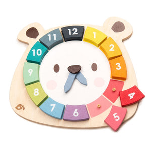Bear Colour clock