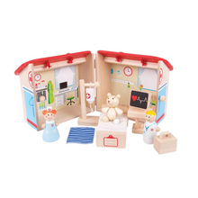 Load image into Gallery viewer, Hospital mini playset