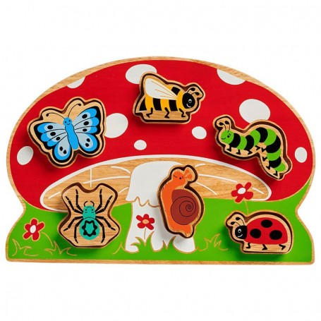 Mini beast shape sorter