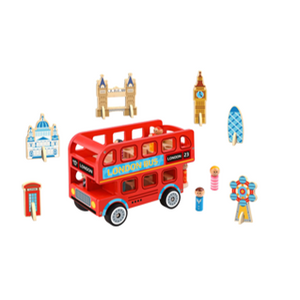 London bus and accessories