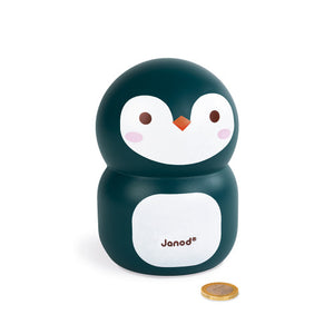 Penguin moneybox