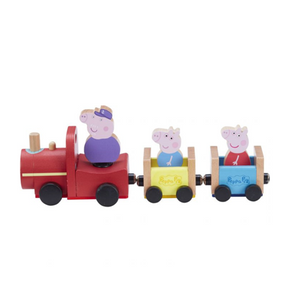 Peppa Pig wooden train