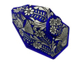 Ecomask3D Xalitla Birds and Flowers Blue