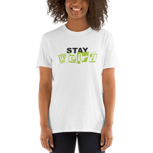 Load image into Gallery viewer, Stay Weird White Unisex T-Shirt
