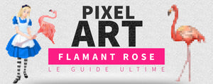 Article sur le Pixel Art Flamant Rose