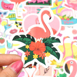 Stickers Flamant Rose<br/> Format Mini