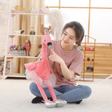 Peluche Flamant Rose<br/> Queen Flamingo