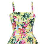Robe Flamant Rose<br/> Pin-Up