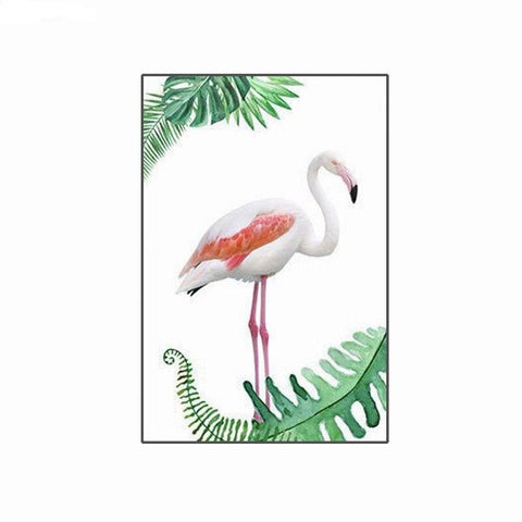Tableau Flamant Rose<br/> Tropical