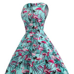 Robe Flamant Rose<br/> Tropicale