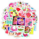 Stickers Flamant Rose<br/> Petit format