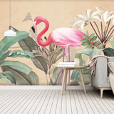 Tapisserie Flamant Rose<br/> Déco de Salon