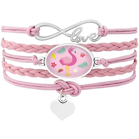 Bracelet Flamant Rose Summer | ROSEUS