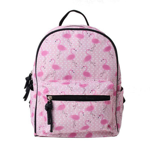 Cartable Fille Flamant Rose | ROSEUS