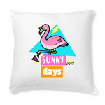 Coussin Flamant Rose Sunny Days | ROSEUS