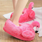 Chaussons Flamant Rose<br/> Fuchsia