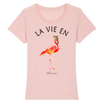 T-Shirt La Vie en Rose<br/> Flamant