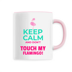 Mug Flamant Rose Keep Calm | ROSEUS